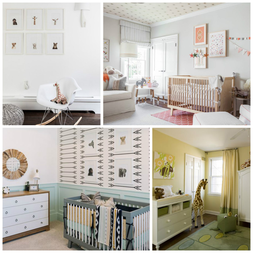 Babykamer ideeen blauw: mooie landelijke babykamer voor een jongen ...