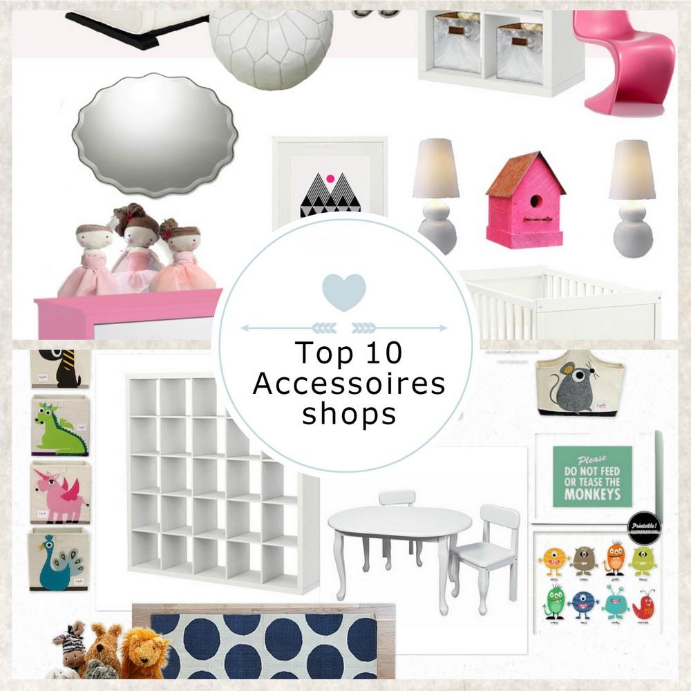 Top 10 Kinderkamer Accessoires Shops