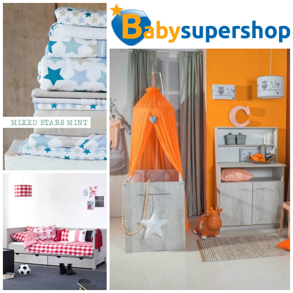 babysupershop, kindermeubels, kinderbeddengoed via kinderkamer styling tips