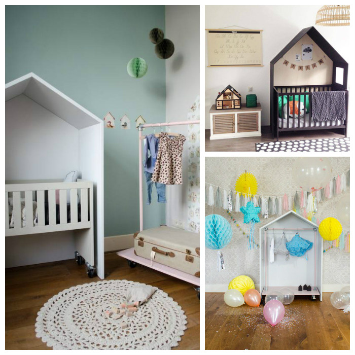 Bedhuisje kinderkamers, kindermeubels via kinderkamer styling tips
