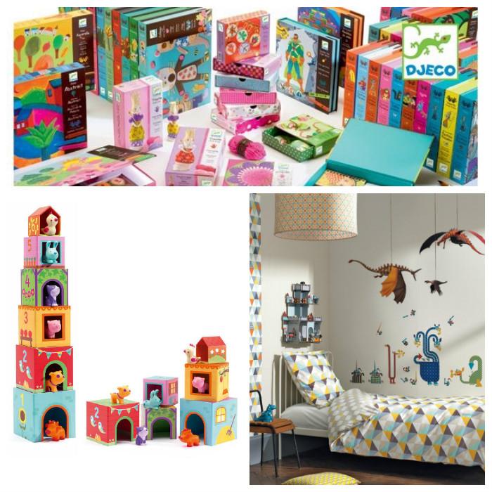Djeco kinderkamers en speelgoed