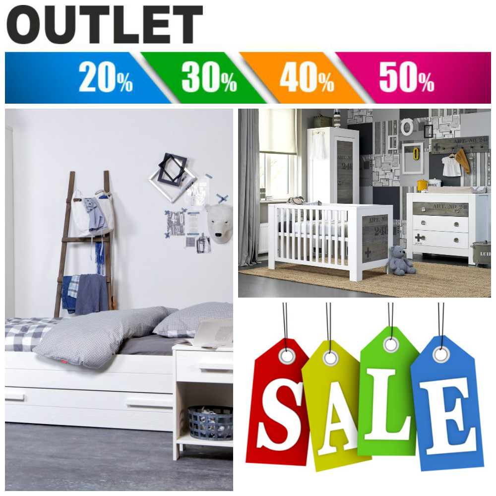 Outlet sale goedkope kinderkamers