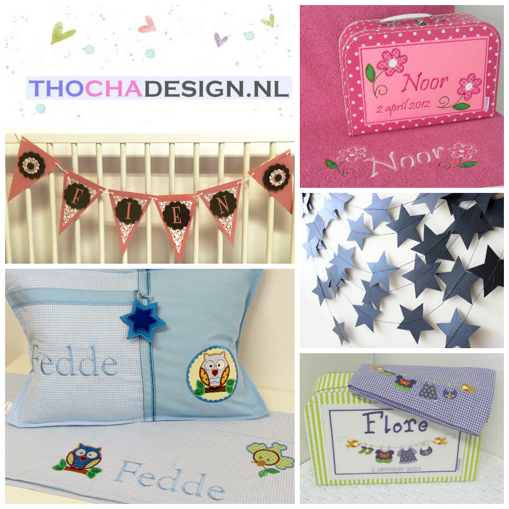 Thocha Design naamslingers en accessoires via kinderkamer styling tips