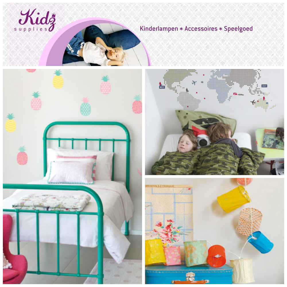 Kidzz supplies kinderkamer styling