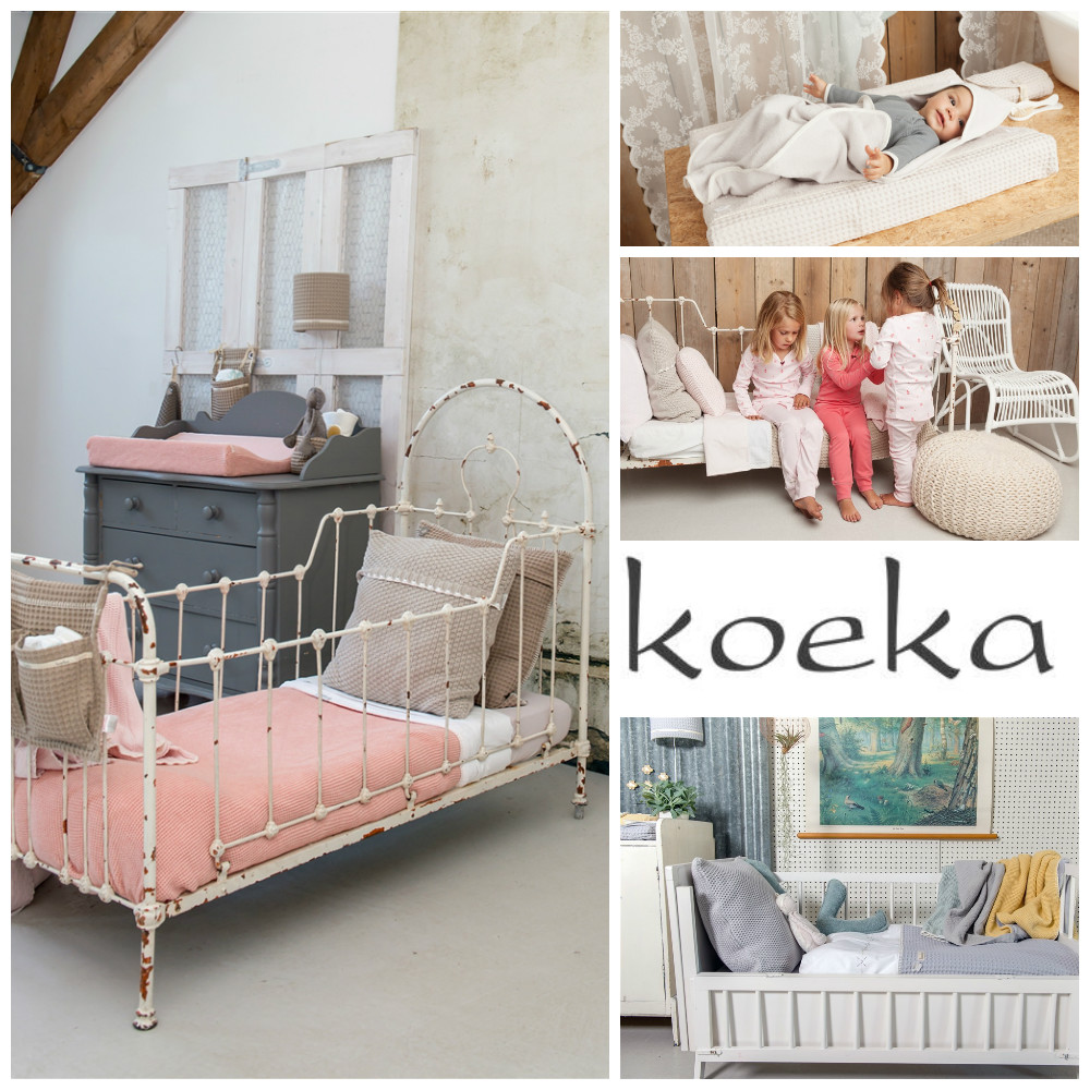 Koeka beddengoed kinderkamer styling