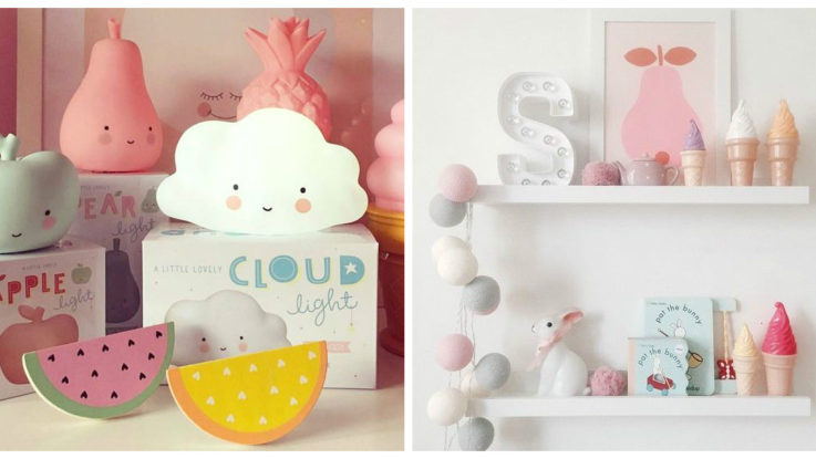 Nachtlamp Kinderkamer Tips : Wolken kinderkamer nachtlampjes ⋆ kinderkamer styling tips