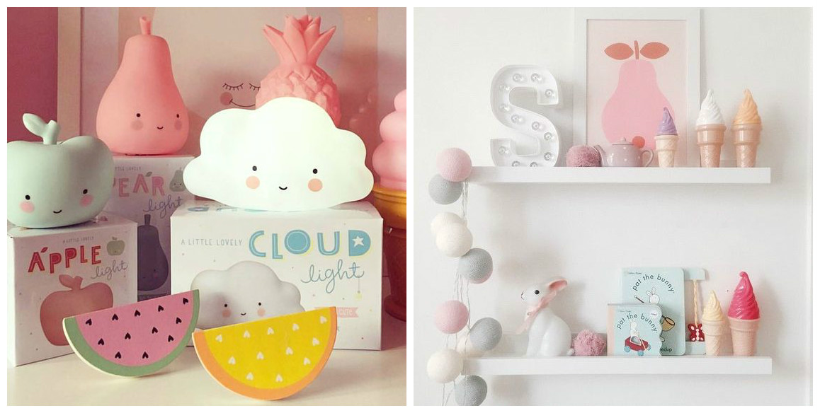 Wolken kinderkamer nachtlampjes kinderkamer styling tips for Decoratie peuterkamer