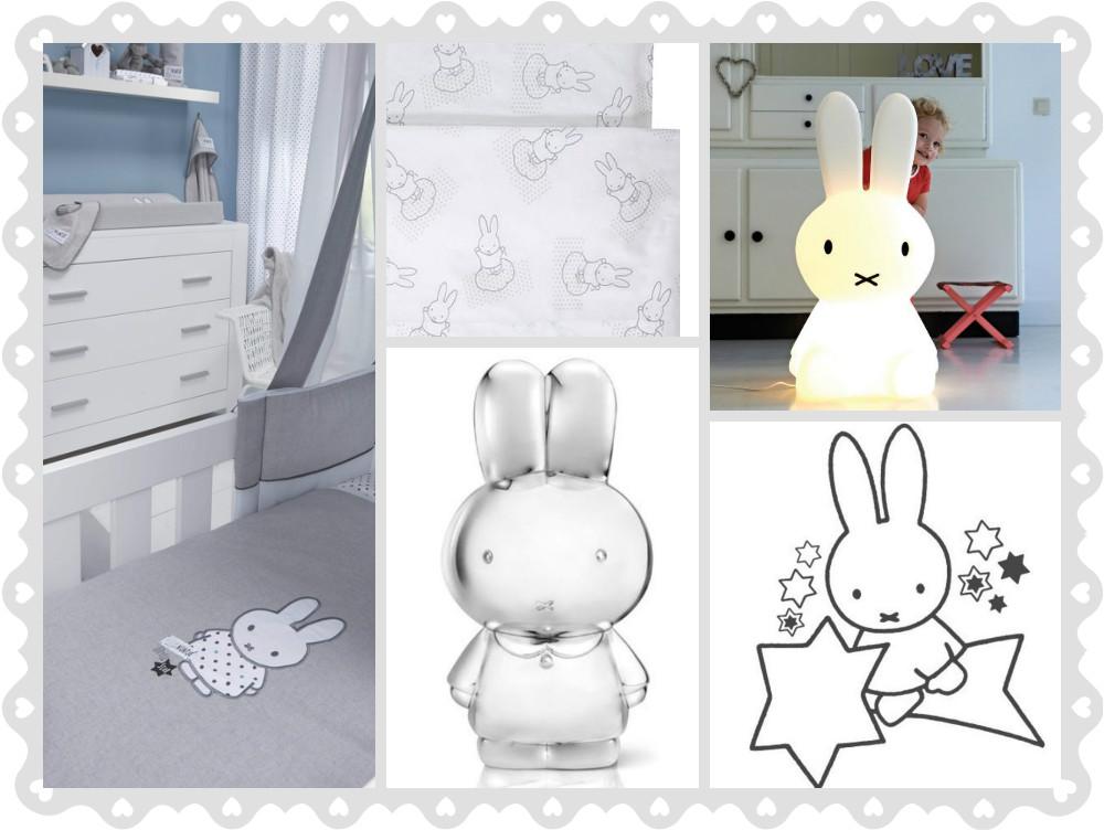 nijntje babykamer zilver accessoires ⋆ kinderkamer styling tips, Deco ideeën