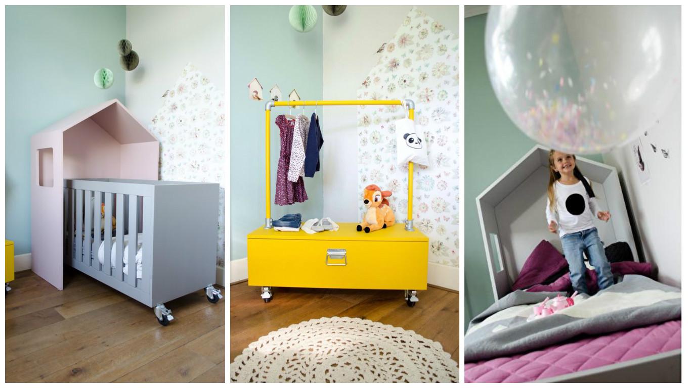 Bedhuisje ombouw inspiratie kinderkamer styling tips for Decoratie peuterkamer