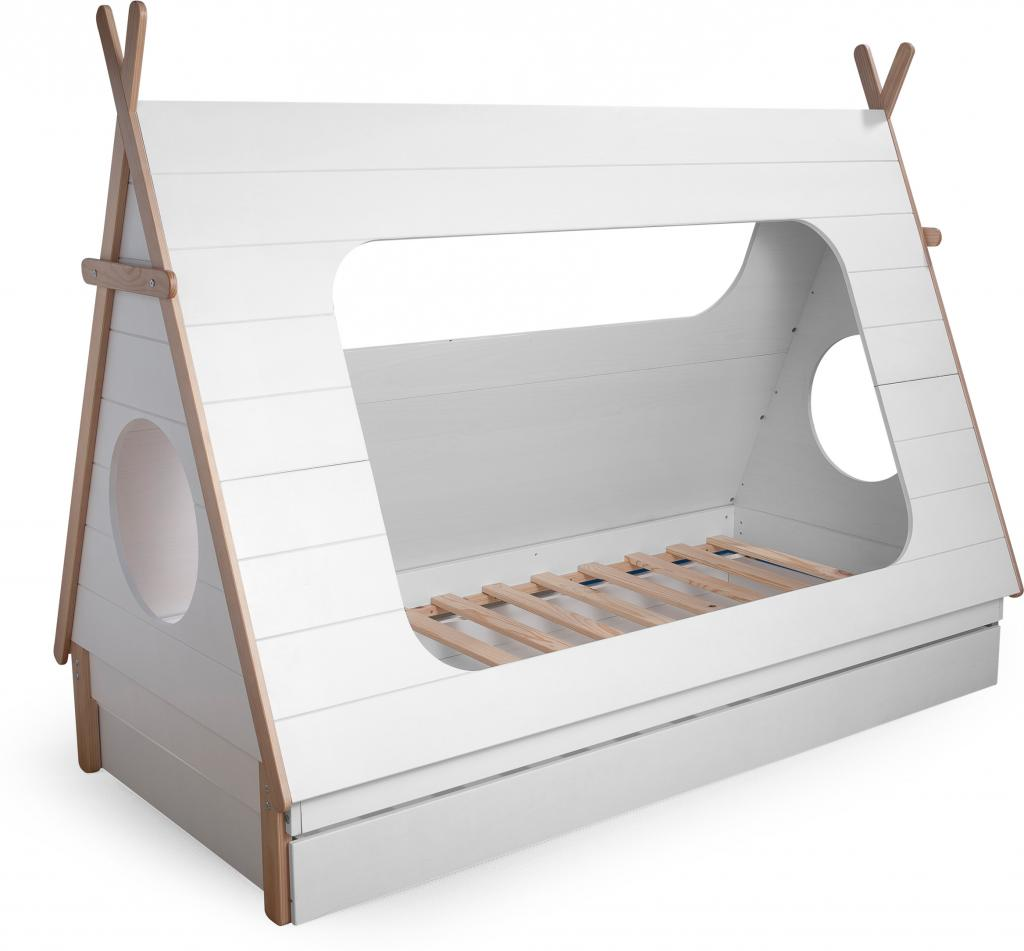 Tipi bed kinderkamer styling tips